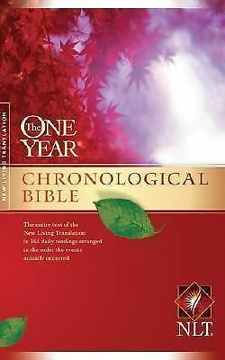 The One Year Chronological Bible NLT (One Year Bible: Nlt) by
