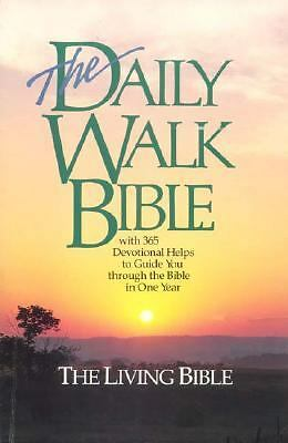 The Daily Walk Bible (Living Bible) by Walk Thru the Bible (Educational Ministr