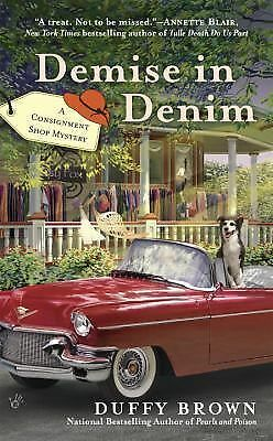 Demise in Denim (A Consignment Shop Mystery), Brown, Duffy, Good Book