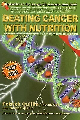 Beating Cancer with Nutrition. (W Cd Inside) by Patrick Quillin