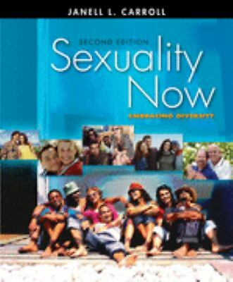 Sexuality Now: Embracing Diversity,Carroll, Janell L.,  Acceptable  Book