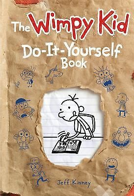 The Wimpy Kid Do-It-Yourself Book (Diary of a Wimpy Kid), Kinney, Jeff, Acceptab