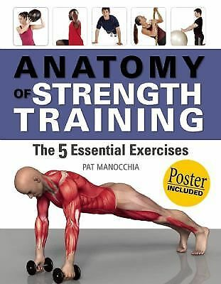 Anatomy of Strength Training: The Five Essential Exercises by Manocchia, Pat