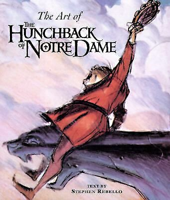 The Art of The Hunchback of Notre Dame (Disney Miniature), Rebello, Stephen, Acc