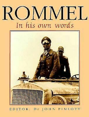Rommel: In His Own Words, Erwin Rommel, Christopher Ailsby, Acceptable Book