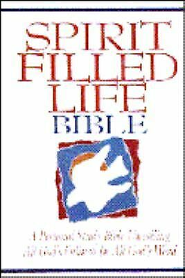 Spirit Filled Life Bible: A Personal Study Bible Unveiling All God's Fullness in