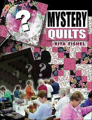 Mystery Quilts, Fishel, Rita, Good Book