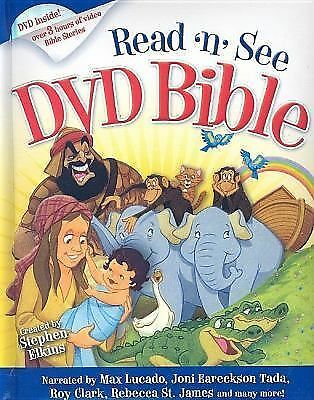 Read-n-See DVD Bible: Narrated by: Max Lucado, Joni Erickson Tada, Twila Paris,