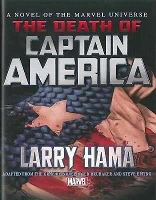 Captain America: The Death of Captain America Prose Novel,Larry Hama,  Good Book
