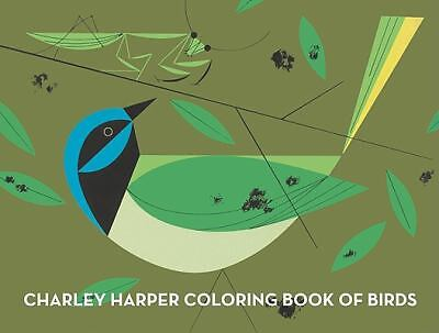 Charley Harper Coloring Book of Birds, Harper, Charley, Good Book
