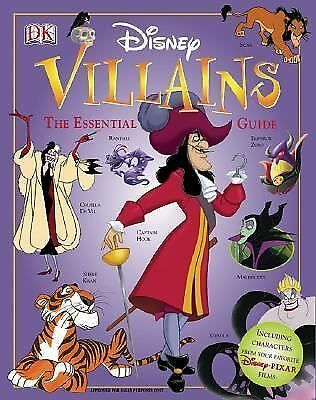 Disney Villains: The Essential Guide (DK Essential Guides) by Dakin, Glenn