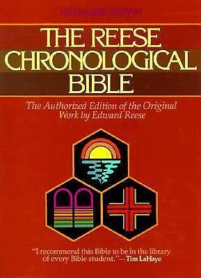 The Reese Chronological Bible by Reese, Edward, Klassen, Frank R.