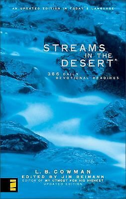 Streams in the Desert: 366 Daily Devotional Readings, Reimann, Jim, Cowman, Mrs.
