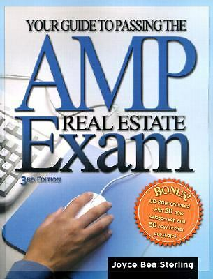 Your Guide To Passing The AMP Real Estate Exam (Cd Included) by Sterling, Joyce