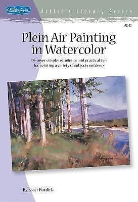 Plein Air Painting in Watercolor by Scott Burdick