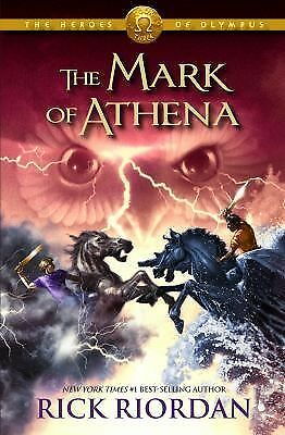The Mark of Athena (Heroes of Olympus, Book 3), Riordan, Rick, Good Book