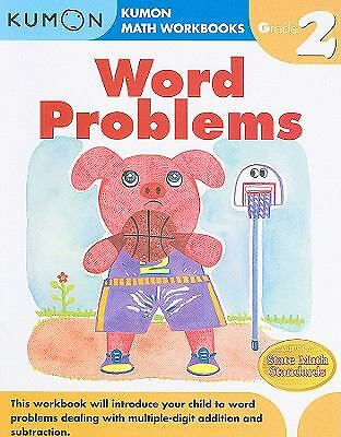 Word Problems Grade 2 (Kumon Math Workbooks) by Kumon Pub. North America Ltd