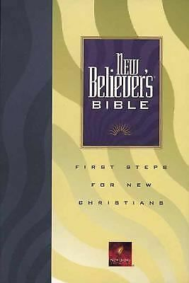 New Believer's Bible: First Steps for New Christians (New Living Translation), ,