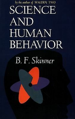 Science And Human Behavior, B.F Skinner, Acceptable Book