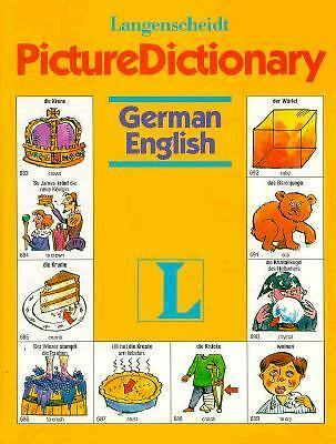 Langenscheidt Picture Dictionary: German/English, Renyi, P., Good Book