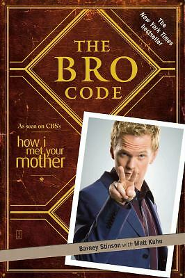 The Bro Code, Barney Stinson, Good Book