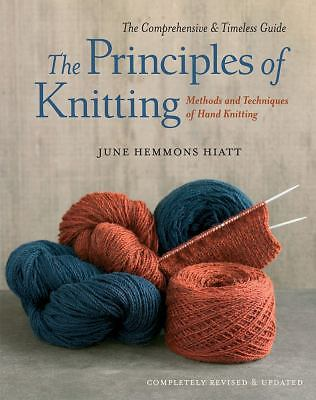 The Principles of Knitting, Hiatt, June Hemmons, Good Book