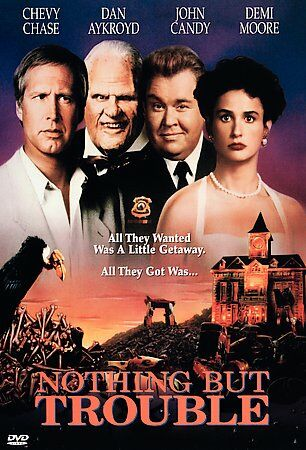 Nothing But Trouble, Good DVD, Demi Moore, John Candy, Dan Aykroyd, Chevy Chase,