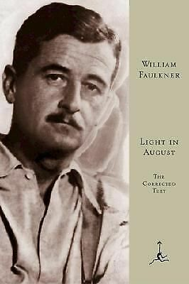 Light in August: The Corrected Text by Faulkner, William