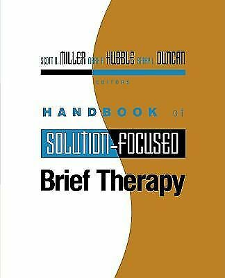 Handbook of Solution-Focused Brief Therapy (Jossey-Bass Psychology), , Good Book