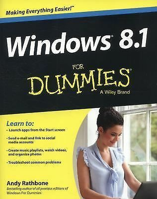 Windows 8.1 For Dummies, Rathbone, Andy, Acceptable Book