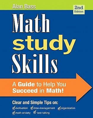 Math Study Skills (2nd Edition), Bass, Alan, Acceptable Book