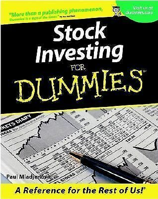 Stock Investing For Dummies (For Dummies (Lifestyles Paperback)), Mladjenovic, P