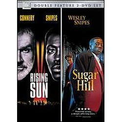 Rising Sun / Sugar Hill, Good DVD, Anthony Thomas, Abe Vigoda, Clarence Williams