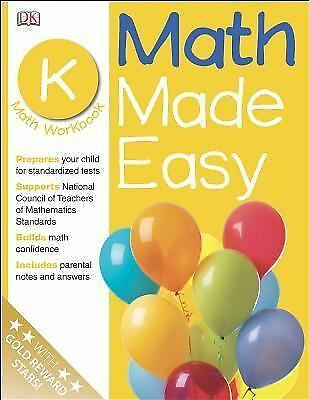 Math Made Easy: Kindergarten Workbook (Math Made Easy) by DK Publishing