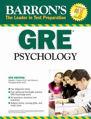 Barron's GRE Psychology by
