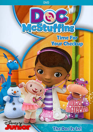Doc McStuffins: Time for Your Checkup, Good DVD, Gary Anthony Williams, Kimberly