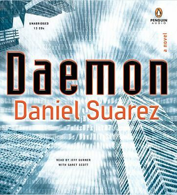 Daemon by Daniel Suarez Unabridged Audiobook 13 CDs Gurner & Scott