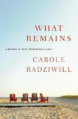 What Remains: A Memoir of Fate, Friendship, and Love by Radziwill, Carole