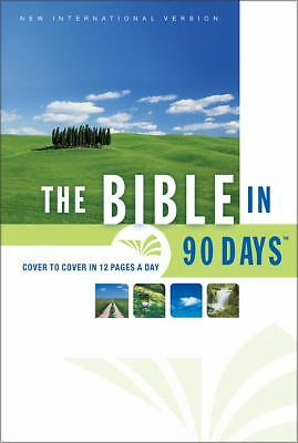 The Bible in 90 Days: Cover to Cover in 12 Pages a Day (New International Versio