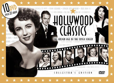 Hollywood Classics/10 DVD Box, Good DVD, Barbara Stanwyck, Irene Dunne, Cary Gra