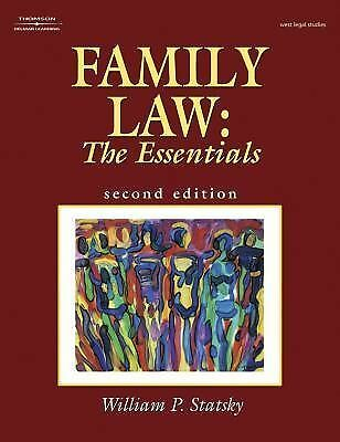 Family Law: The Essentials by Statsky, William P.