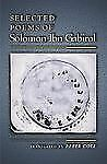 Selected Poems of Solomon Ibn Gabirol - Ibn Gabirol, Solomon - Good Condition