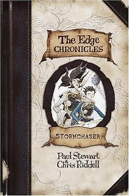 Stormchaser (The Edge Chronicles, No. 2), Riddell, Chris, Stewart, Paul, Good Bo