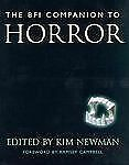 The Bfi Companion to Horror (Cassell Film Studies) by Newman, Kim