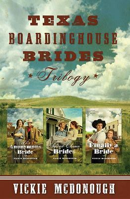 Texas Boardinghouse Brides Trilogy, McDonough, Vickie, Acceptable Book