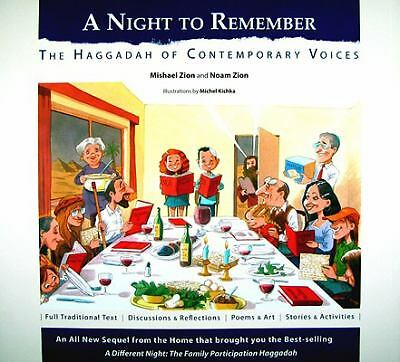 A Night to Remember: The Haggadah of Contemporary Voices (Hebrew -English) (Eng