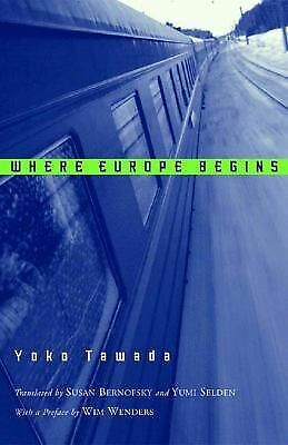 Where Europe Begins, Tawada, Yoko, Good Book