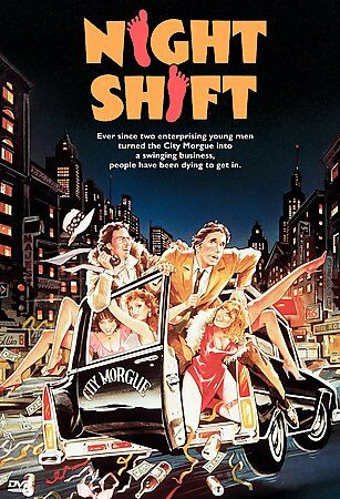 Night Shift, Good DVD, Henry Winkler, Shelley Long, Michael Keaton,