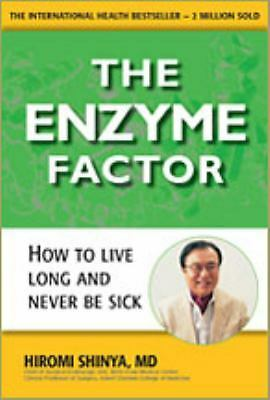 The Enzyme Factor, Hiromi Shinya MD, Acceptable Book