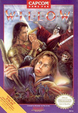 Willow - Nintendo NES, Acceptable Nintendo NES, nintendo_entertain Video Games